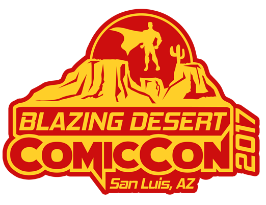 Blazing Desert Comic Con